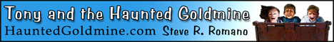 Tony and the Haunted Goldmine web banner ad
